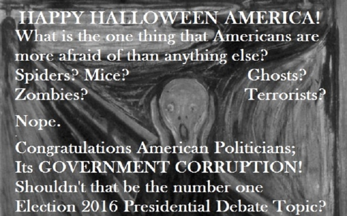 Halloween 2015: What are Americans most afraid of?