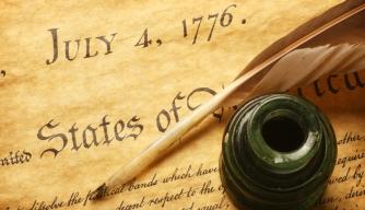 DeclarationOfIndependenceWithQuill