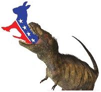 dinoeatingdemocratparty