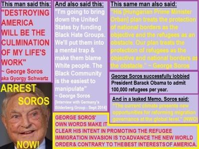 GeorgeSorosRefugeeCrisisImmigrationInvasionArrest04232017
