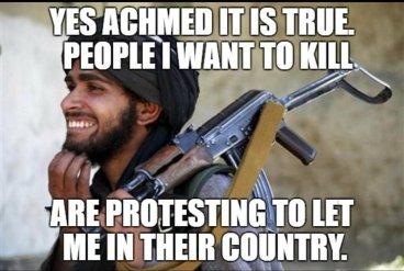 IslamMuslimAchmedcelebratesfolkshewantstokilldemandinghebeletin02212017