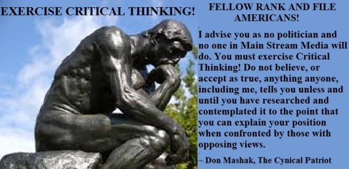CriticalThinkingExercise